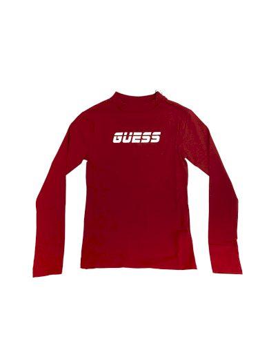 Dámské tričko s dlouhým rukávem O0BA0PK6YW1 - G5F0 - Guess