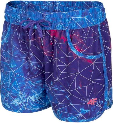 Dámské plážové šortky 4F SKDT002 vícebarevné