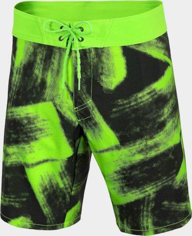 Pánské plážové šortky 4F SKMT006 Zelené