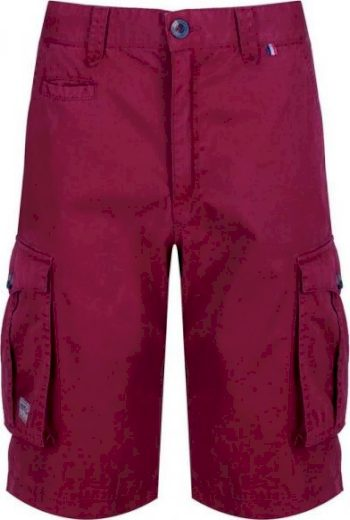 Pánské šortky Regatta Shorebay Short 649 vínové