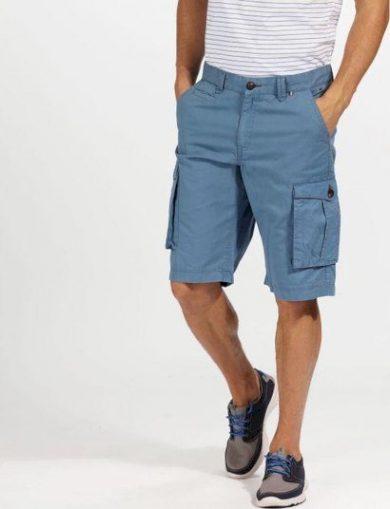 Pánské šortky Regatta Shorebay Short 7DX modré