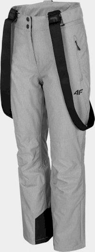 Dámské lyžařské kalhoty 4F SPDN300 šedé melang