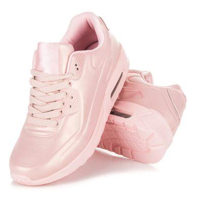 Dámské růžové stylové sportovní tenisky