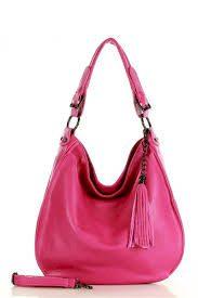 Dámská přírodní kožená taška model 146597 - Mazzini