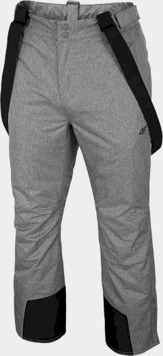 Pánské lyžařské kalhoty 4F SPMN350R Šedé