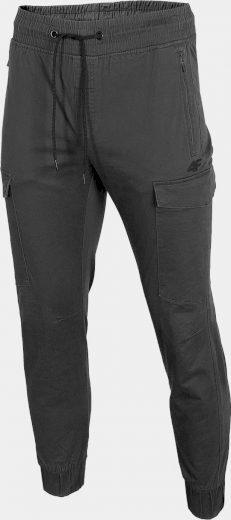 Pánské městské kalhoty 4F SPMC301 Šedé