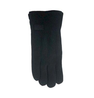 Zateplené pánské rukavice s nášivkou RS-041