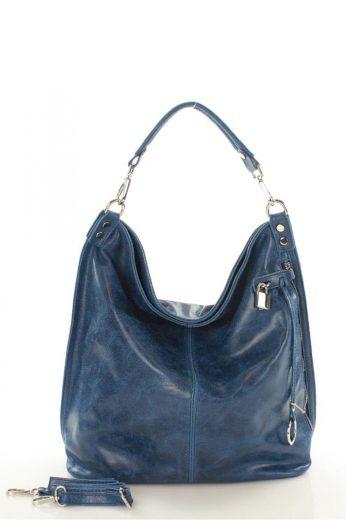 Přírodní kožená taška model 107798 Mazzini