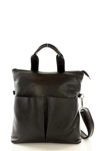 Přírodní kožená taška model 109961 Mazzini