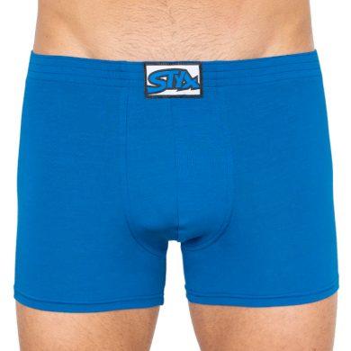 Pánské boxerky Styx long klasická guma modré (F967)
