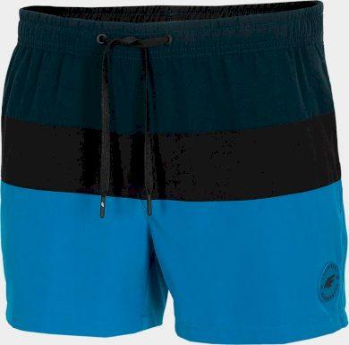 Pánské plážové šortky 4F SKMT201 Modré
