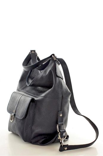 Přírodní kožená taška model 110269 Mazzini