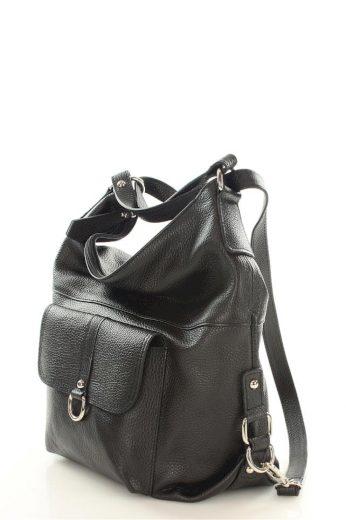 Přírodní kožená taška model 110271 Mazzini