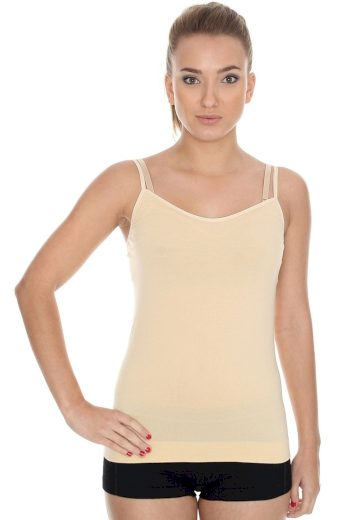 Dámská košilka 00210 Camisole beige - BRUBECK
