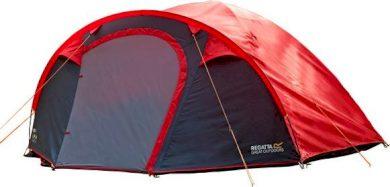 Campingový stan pro 4 osoby regatta RCE165 Kivu 4 v2 Červený
