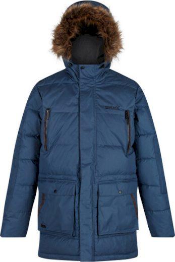 Pánská zimní bunda Regatta RMN130 Angaros II Modrá