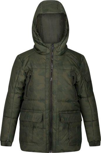 Dětská zimní bunda Regatta RKN094 Perico Khaki