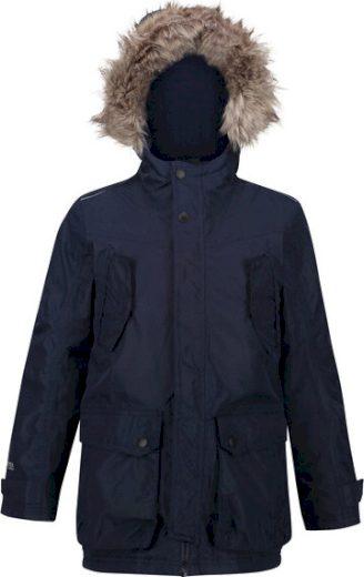 Dětská zimní bunda Regatta RKP213 Pazel Parka Tmavě modrá