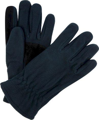 Pánské fleecové rukavice Regatta RMG014 Kingsdale Glove Tmavě modré