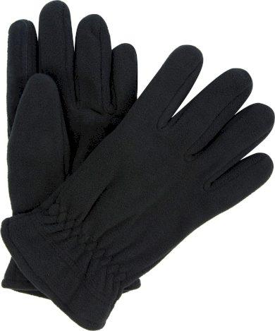 Pánské fleecové rukavice Regatta RMG014 Kingsdale Glove Černé