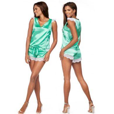Dámské saténové pyžamo K-913 - Excellent Beauty