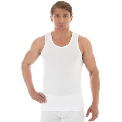 Pánský nátělník 00540A white - BRUBECK