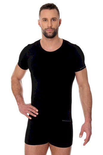 Pánské tričko 00990A black - BRUBECK
