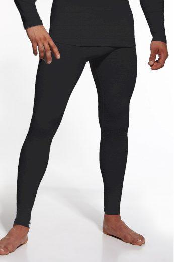 Pánské podvlékací kalhoty Authentic plus black - CORNETTE