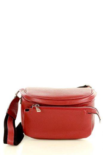 Přírodní kožená taška model 147109 Mazzini