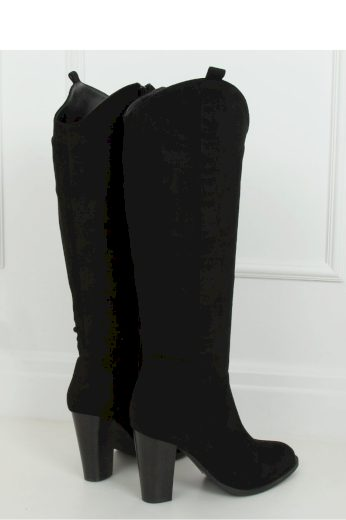 Kozačky na podpatku  model 147400 Inello