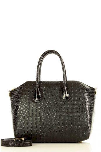 Přírodní kožená taška model 148498 Mazzini