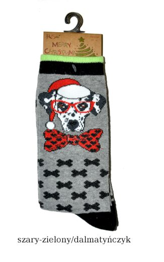 Dámské ponožky Merry Christmas 3058 -  RiSocks