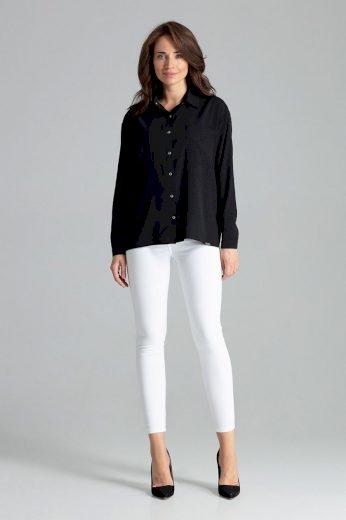 Dámská košile s dlouhým rukávem L059 - Lenitif