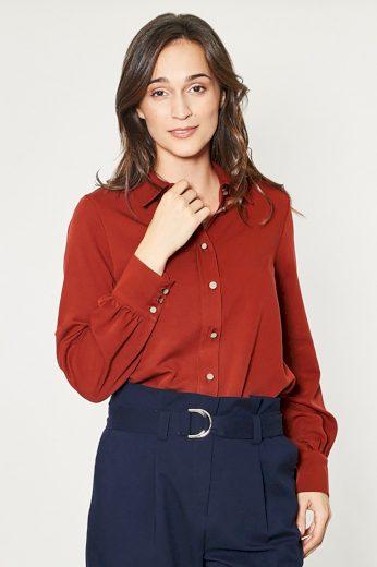 Košile s dlouhým rukávem  model 150177 Click Fashion
