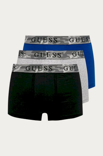Boxerky 3pcs U0BG16 JR003-F7Y8 vícebarevná - Guess