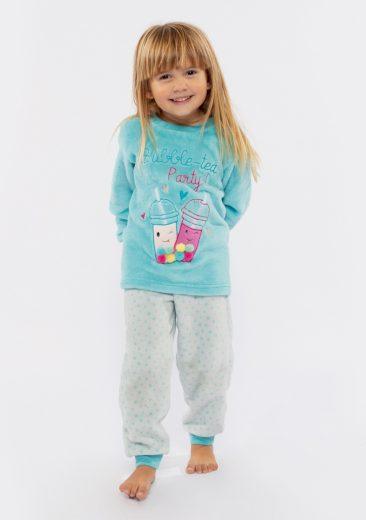 Dětské pyžamo Muydemi 610326 10 Světle modrá
