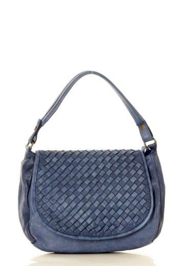 Dámská přírodní kožená taška model 133014 - Mazzini
