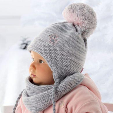 Dětská čepice a šátek 36-305 - AJS