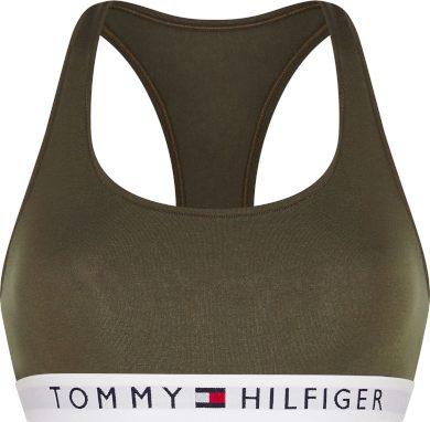 Bralette podprsenka UW0UW02037 RBN khaki - Tommy Hilfiger