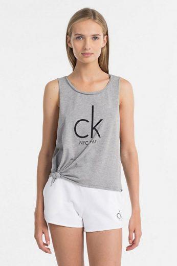 Dámské tílko KW0KW00455-020 šedá - Calvin Klein