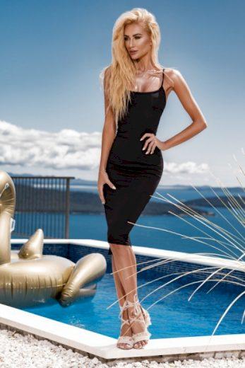 Dámské šaty Midi Rebellious Dress - ChickChick