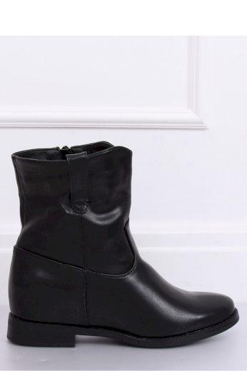 Boty na klínovém podpatku  model 150688 Inello