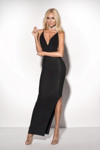 Šaty CANVA MAXI DRESS - ChickChick