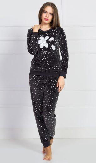 Dámské pyžamo dlouhé Silvie - Vienetta