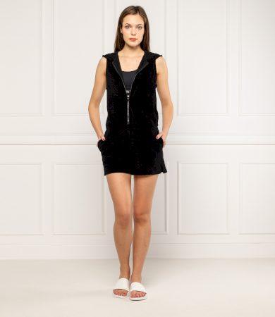 Plážový overal KW0KW01070-BEH černá - Calvin Klein