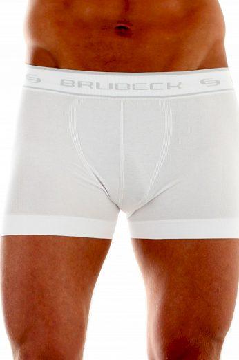 Pánské boxerky 00501A white - BRUBECK