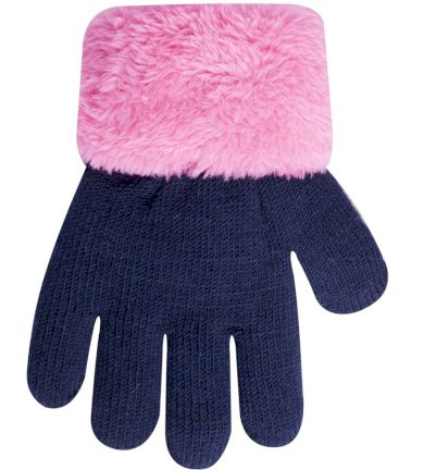 Dětské rukavičky zateplené kožíškem R-103 - YoJ