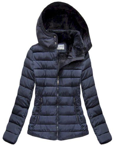 Dámská zimní bunda s kapucí B-3591 - S.WEST