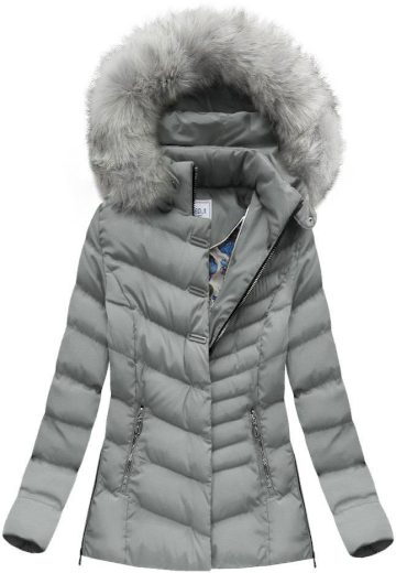Dámská zimní bunda s kapucí W583 - Speed.A