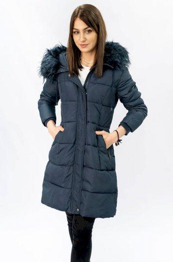 Dámská prošívaná zimní bunda s kapucí LD-7757 - LIBLAND